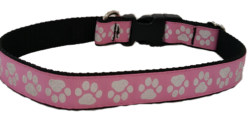Paw Prints in Pink