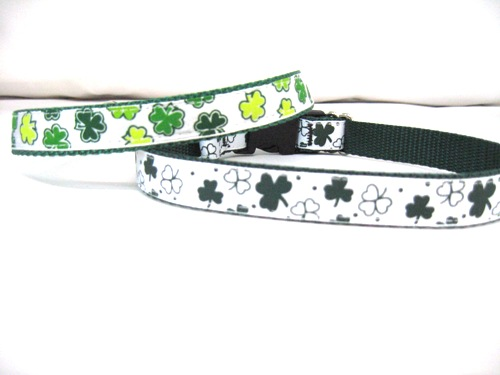 St. Patrick's Day Collars