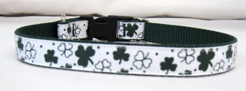 Dark Green Shamrocks