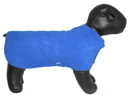 Royal Blue Fleece Sweater