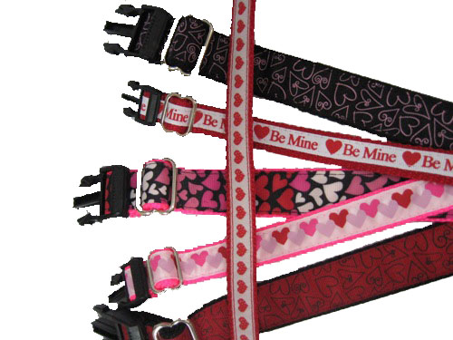 Valentines Day Collars
