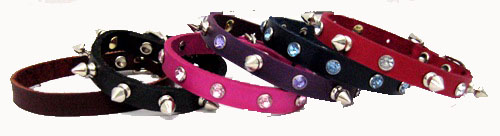 "1/2"" Wide Leather Collars"