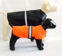Nylon/Fleece Waterproof Dog Jacket