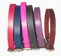 "1/2"" Wide Plain Leather Collars"
