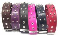 "1 3/4"" Wide Spiked Leather Collars"