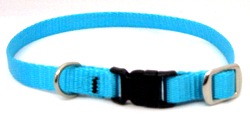 XS Dog Collar With Plastic Side-Release Buckle