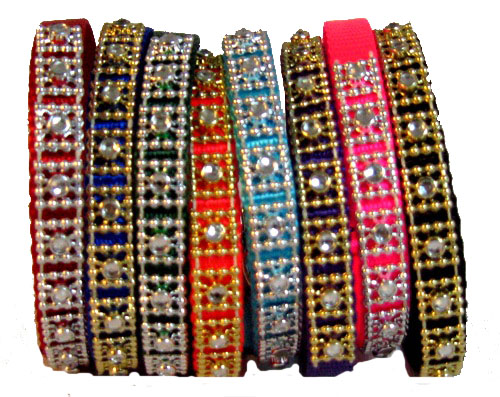 XS Dog Collar With Jewels