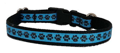 Paw Prints in Blue