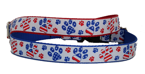 USA Paw Prints