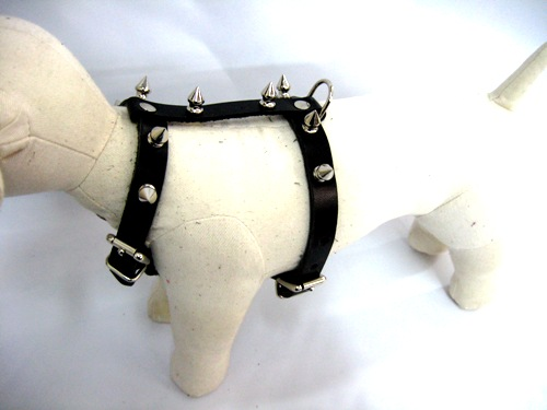 Small Dog Leather Harnesses