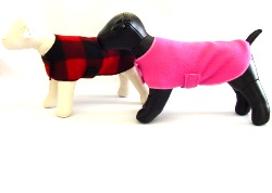 Fleece Dog Sweaters